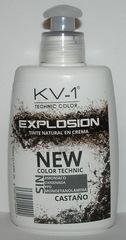 Tinte Explosion Castano  экологическая тонирующая маска для волос.  Глубокий яркий каштановый