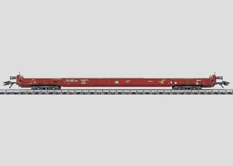 4740 Marklin Платформа пониженная для перевозки грузовиков