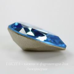 4320 Ювелирные стразы Сваровски Капля Aquamarine (18х13 мм)