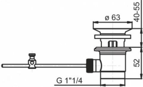 Jacob Delafon Elevation cмеситель для раковины E18870-CP