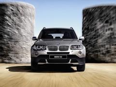 Защита передних фар прозрачная BMW X3 2004- (210010)