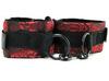 Сексуальные наручники Scandal Universal Cuffs атласные с цепью