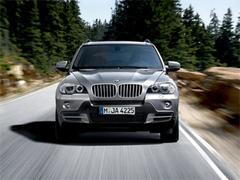 Защита передних фар прозрачная BMW X5 2004- (210020)
