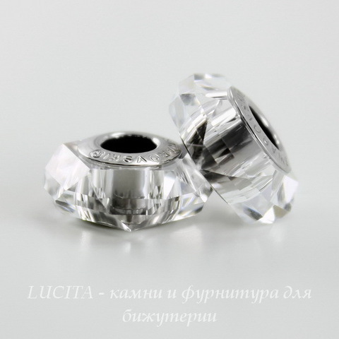 5929 Бусина Сваровски BeCharmed Fortune Crystal 14х6 мм ()