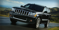 Защита передних фар позрачная Chrysler Grand Cherokee 2005- (205090)