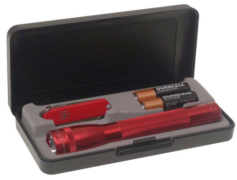Набор нож Victorinox и фонарь Maglite (4.4033)  M2A73LE