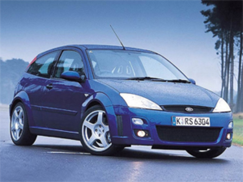 Защита передних фар карбон Ford Focus 1999- (EGR4923CF)