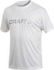 Футболка Craft Active Run Logo мужская белая