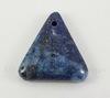 Подвеска Ляпис Лазурит (прессов., тониров) (цвет - темно-синий) 30,4х29х7,8 мм №86