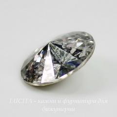 1122 Rivoli Ювелирные стразы Сваровски Crystal Silver Patina (12 мм)