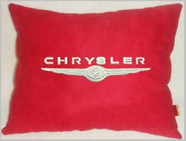 Подушка автомобильная с логотипом CHRYSLER