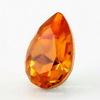4320 Ювелирные стразы Сваровски Капля Tangerine (14х10 мм)