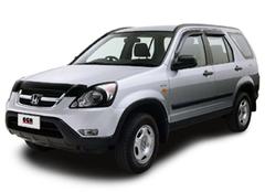 Защита передних фар карбон Honda CRV 2005- (213040CF)