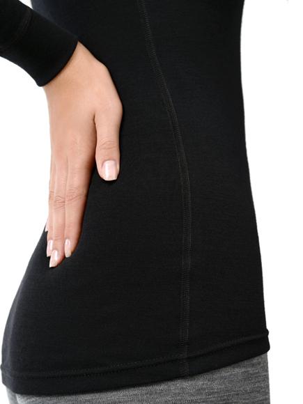 Женская термофутболка  Norveg Soft Shir чёрная (14SW1RL-002)
