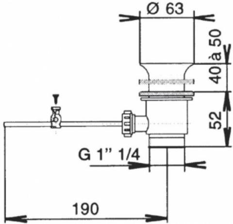 Jacob Delafon Fairfax cмеситель для раковины E72090-CP