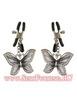 Зажимы для сосков Butterfly Nipple Clamps