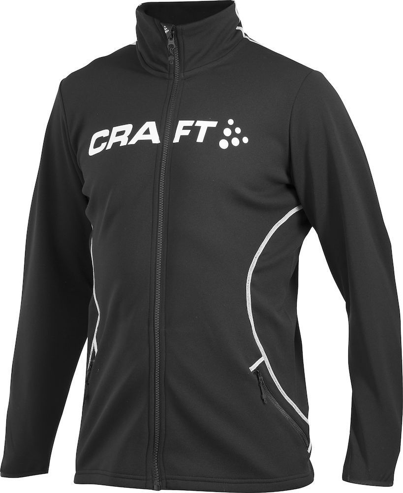 Толстовка мужская Craft Logo черная