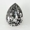 4320 Ювелирные стразы Сваровски Капля Crystal Black Patina (18х13 мм) ()