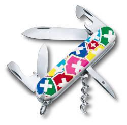 "Офицерский нож SPARTAN """"VX Colors"" 91 мм. / дизайн рукояти ""цвета Victorinox"""