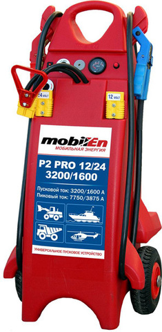 Пусковое устройство и источник питания mobilEn Р2 PRO 12/24 - 3200/1600