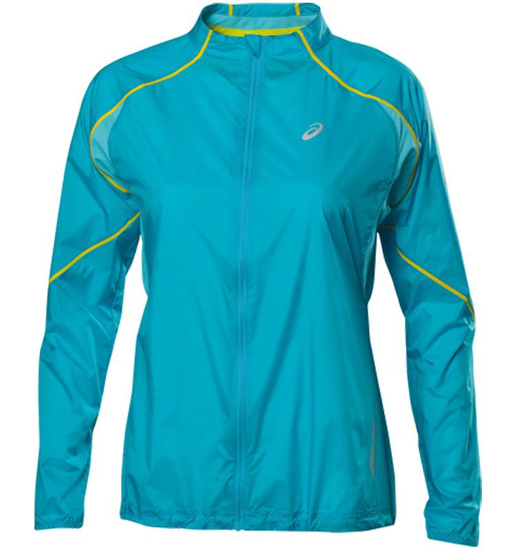 Ветровка женская Asics Speed Jacket blue
