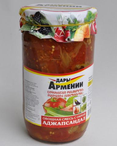 Аджапсандал Дары Армении, 720г
