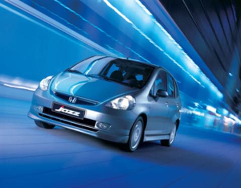 Защита передних фар позрачная Honda Jazz 2005- (EGR-6527)