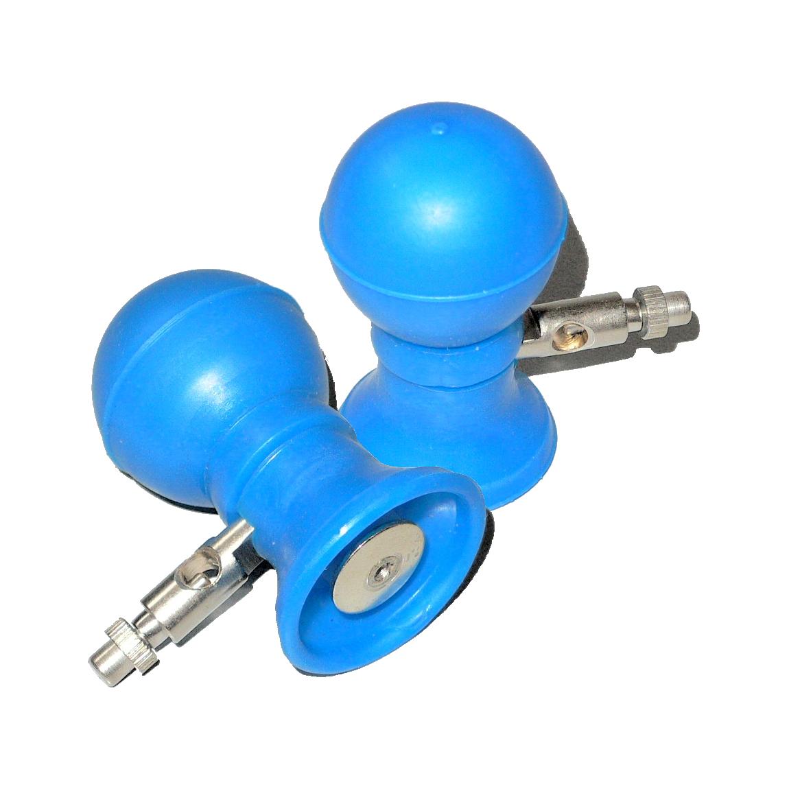 Грудной многоразовый электрод ЭКГ, взрослый с плоским токосъемником (550 руб/шт)