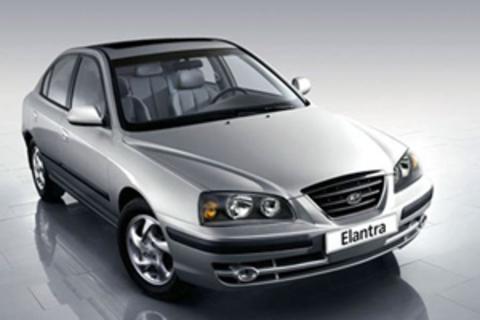 Защита передних фар прозрачная Hyundai Elantra 2003- (EGR3526)