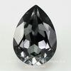 4320 Ювелирные стразы Сваровски Капля Crystal Silver Night (18х13 мм)
