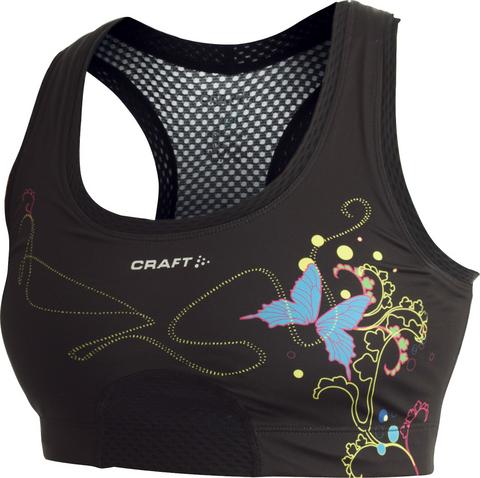 Топ Craft Sports Bra женский черный