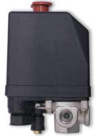 Пусковое реле компрессора 1-фазн 15 Ампер с термозащитой