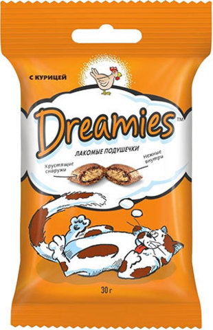 DREAMIES c курицей