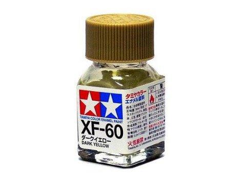 XF-60 Краска Tamiya Темно-желтая Матовая (Dark Yellow), эмаль 10мл