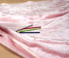 Плед детский 100х140 Luxberry Silk розовый