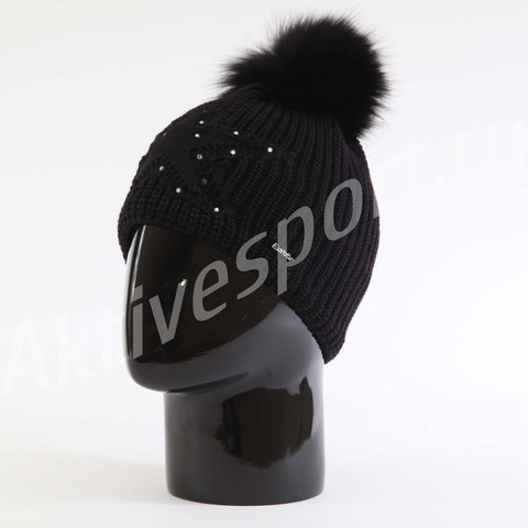 шапка Eisbar Chantal Fur Crystal 009