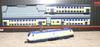 Электровоз и 3 двухэтажных пассаж.вагона MARKLIN 81481
