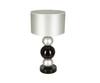 Элитная лампа настольная Silver&Black серая от Sporvil