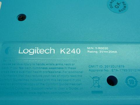 LOGITECH MK240 Black [91254]