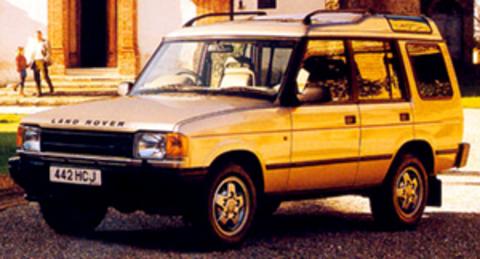 Защита передних фар прозрачная Land Rover Discovery 1989- (221010)