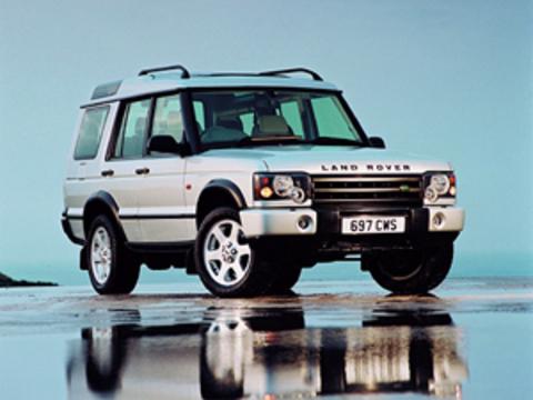 Защита передних фар прозрачная Land Rover Discovery 1999- (221070)