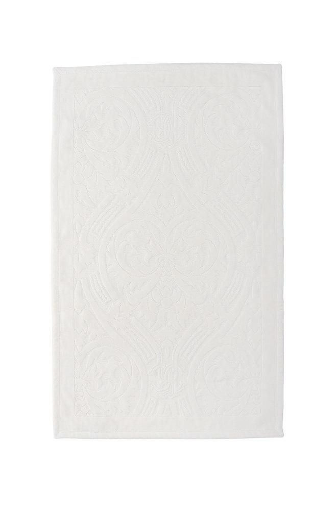 Элитный коврик для ванной Damasco 810 ecru от Roberto Cavalli