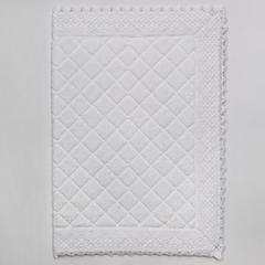 Элитный коврик для ванной Rombetti белый от Old Florence