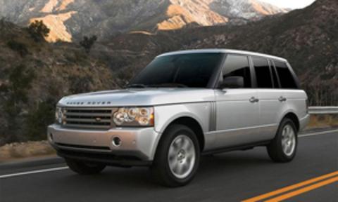 Защита передних фар прозрачная Land Rover Range Rover 2003- (221090)