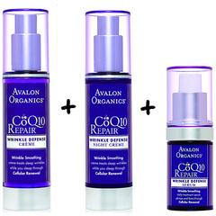 Комплект №22: Уход за лицом с CoQ10, Avalon Organics