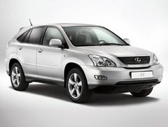 Защита передних фар карбон Lexus RX 330 2003- (239090CF)