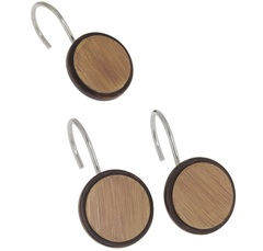 Набор из 12 крючков для шторки Buttons от Carnation Home Fashions