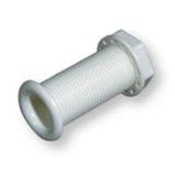 Стакан дренажный 30х80 мм, белый пластм.