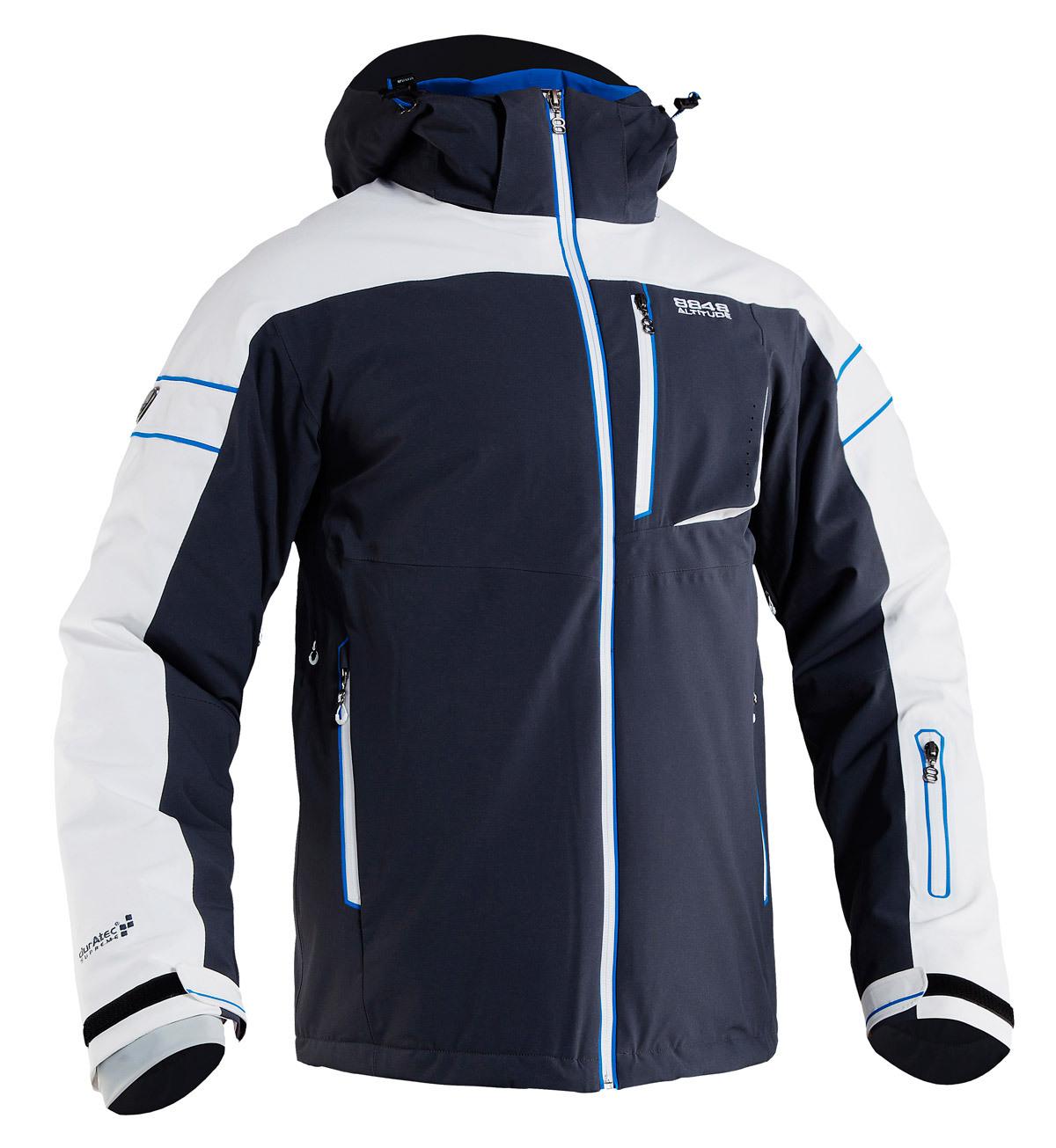 Горнолыжная куртка 8848 ALTITUDE «SWITCH» темно-серая