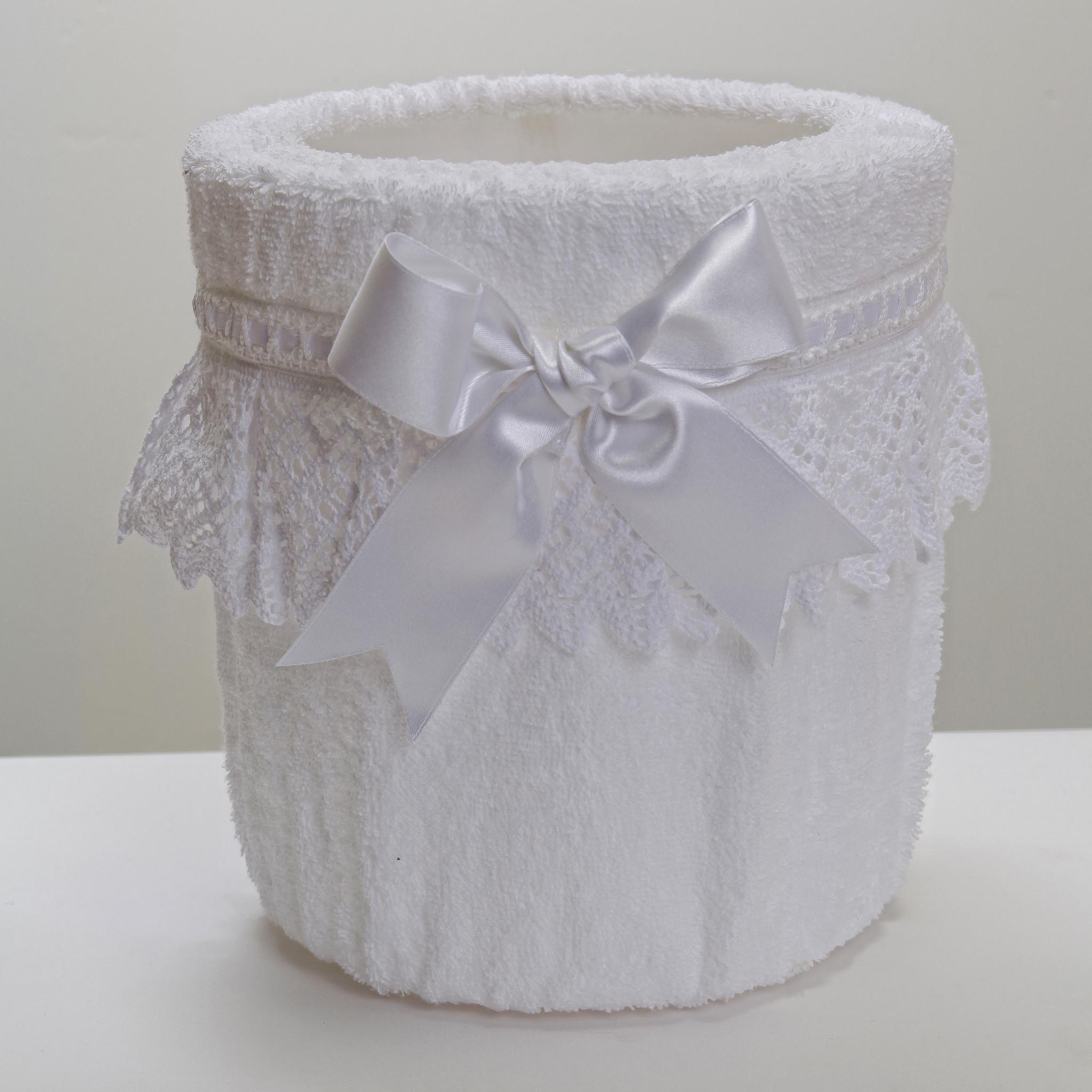 Ведра для мусора Ведро для мусора в ванную 20 Old Florence Rombetti белое vedro-dlya-musora-v-vannuyu-rombetti-ot-old-florence-italiya-belyy-tsvet.JPG